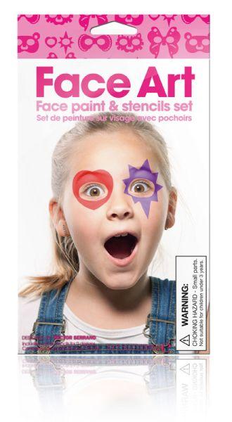 Face Art Girl -<br>Face Paint Set