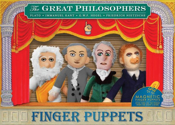 Philosophers<br>Finger Puppet Set