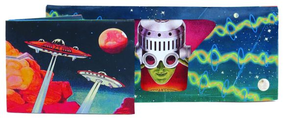 Tyvek wallets with<br>Sound - Sci-Fi