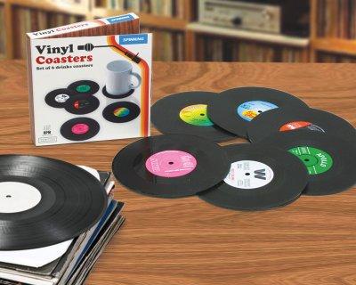 Schallplatten<br>Glasuntersetzer