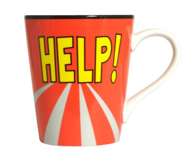 Coffee Mug - Help!<br>(Beatles)