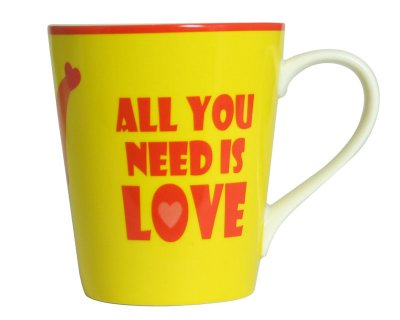 Coffee Mug - All<br> you need is love<br>(Beatles)
