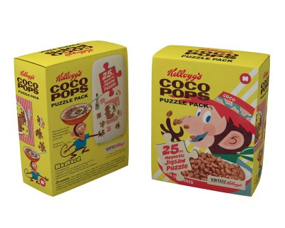 Kellogg's Magnet<br> Puzzle in Packung<br>- Coco Pops