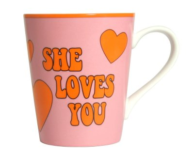 Coffee Mug - She<br>loves you (Beatles)