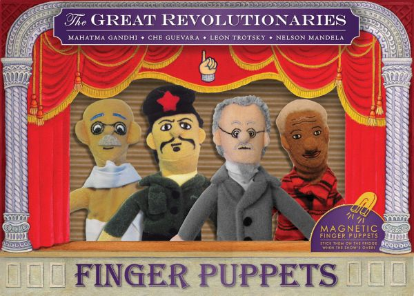 Revolutionary<br>Finger Puppet Set