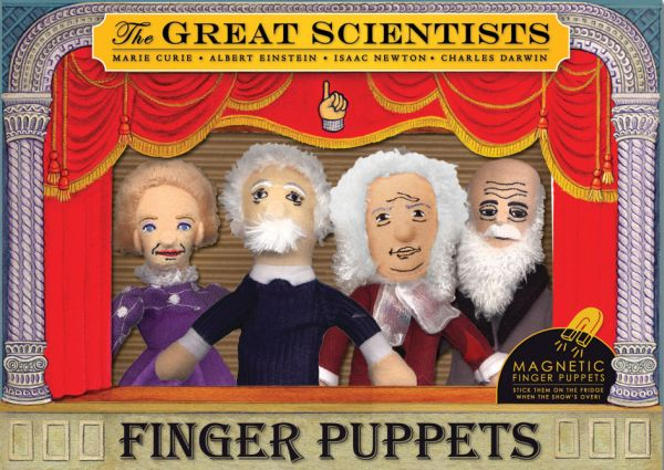 Scientists Finger<br>Puppet Set