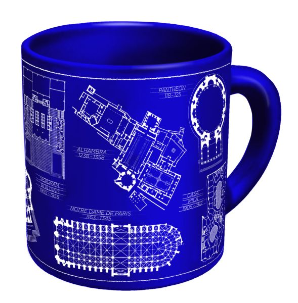 Architecture coffee mug