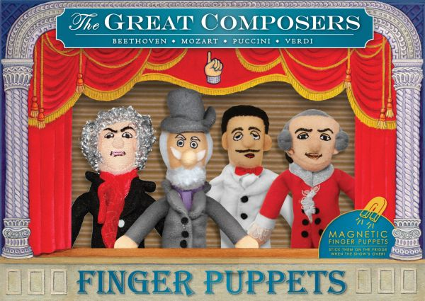 Composers Finger<br>Puppet Set