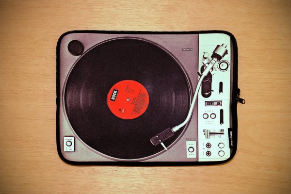 Vinyl Laptop Sleeve 15