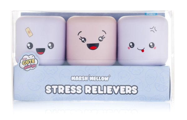 Shin Yu<br> Marshmallow Stress<br>Balls