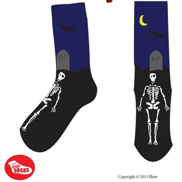 Lustige Socken RIP<br>Friedhof