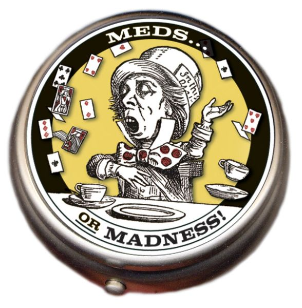 Pillen Dose - Mad Hatter