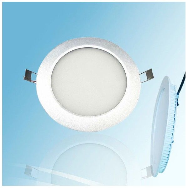 Luz del panel redonda<br> del LED - REGULABLE - ...