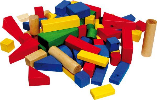 Drewniane klocki drewniane klocki kolorowe