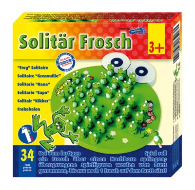Solitaire FROG? /<br>JÁTÉKOK