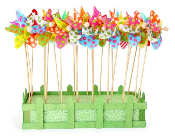 Display pinwheel<br>Kunterbunt