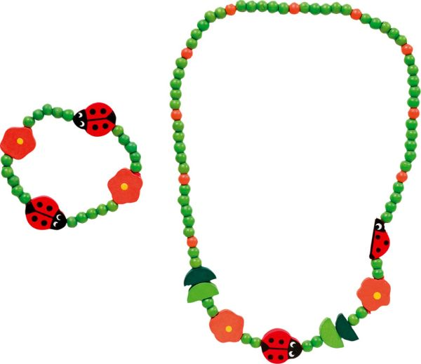 Set gioielli<br> Coccinella