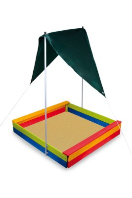 SANDPIT WITH AWNING