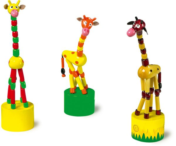 Movable Press<br>Animals  Giraffe