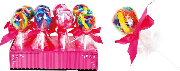 Display  Hair Ties<br>Lollies
