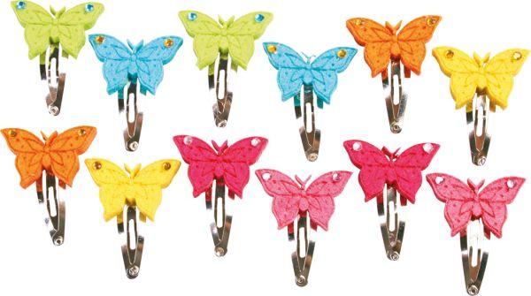 Hairslides  Felt<br>Butterflies