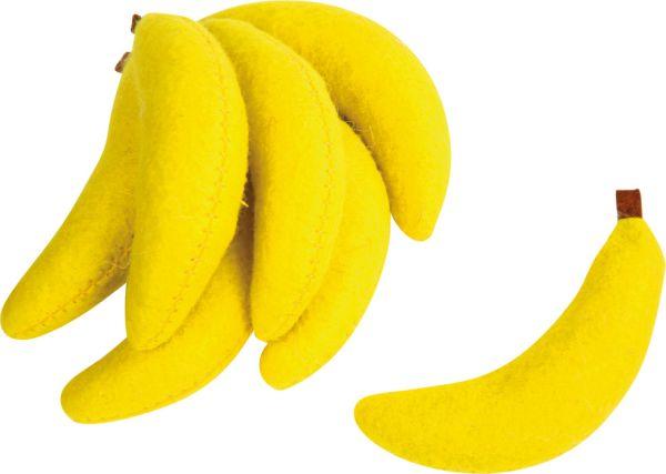 Filz-Bananen