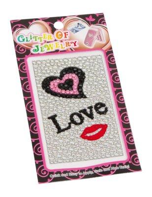 Sticker Glittermotive