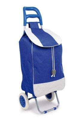 Trolley, blau
