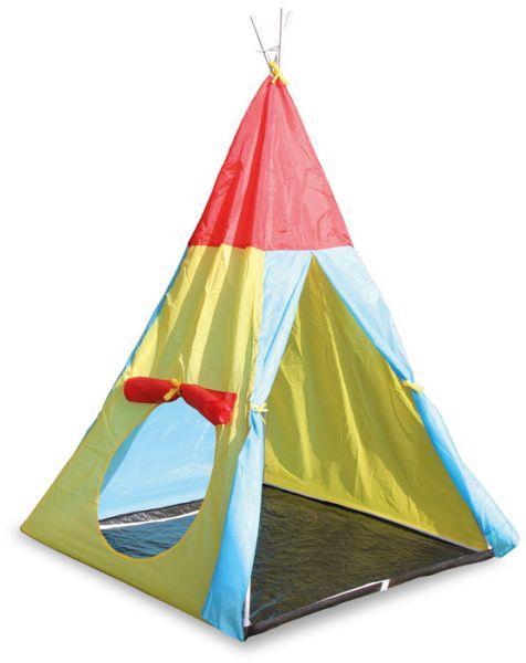 Zelt mit<br>Verbindungstunnel