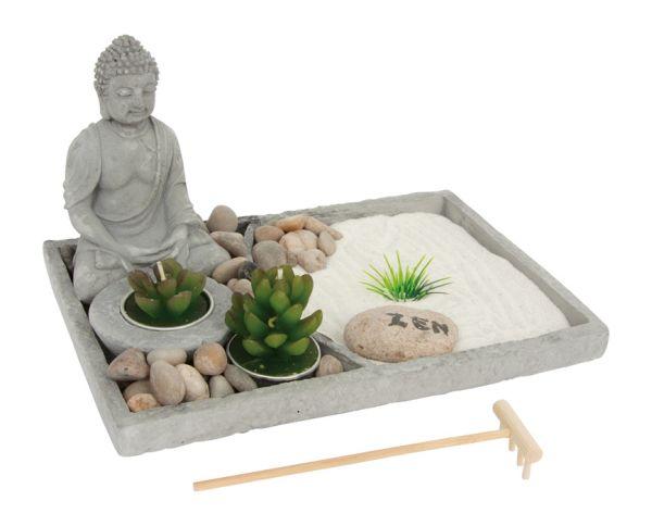 Zen-Garten, Buddha