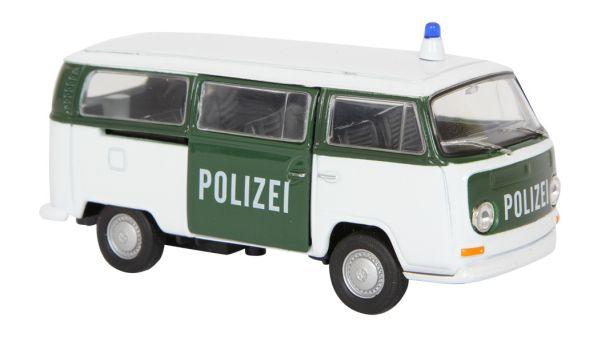 Modellauto VW Bus<br>T2 - Polizei