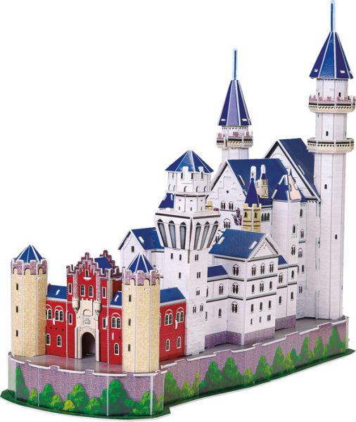 3D  Schloss<br>Neuschwanstein