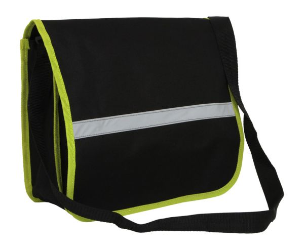 Shoulder Bag with<br>Reflector Stripe