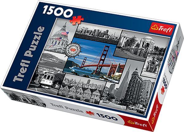 Puzzle San Francisco 1500 pieces