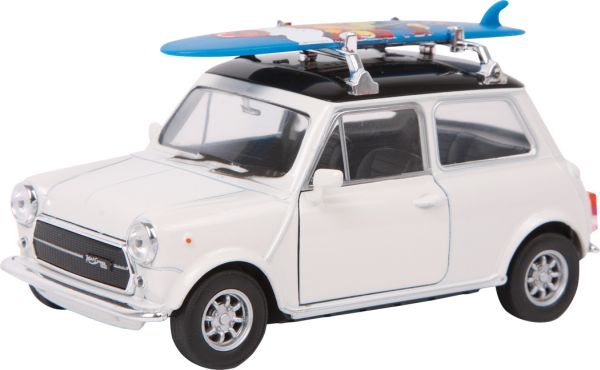 Model Car  Mini<br> Cooper 1300 +<br>Surfboard
