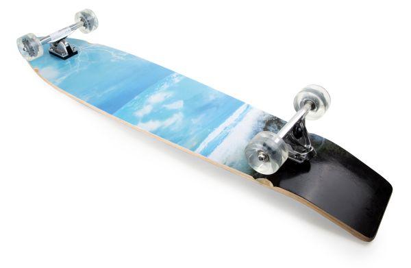Longboard surfers