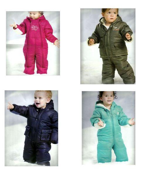 Winter-Overalls /<br> Schnee-Overalls<br>für Baby +Kids