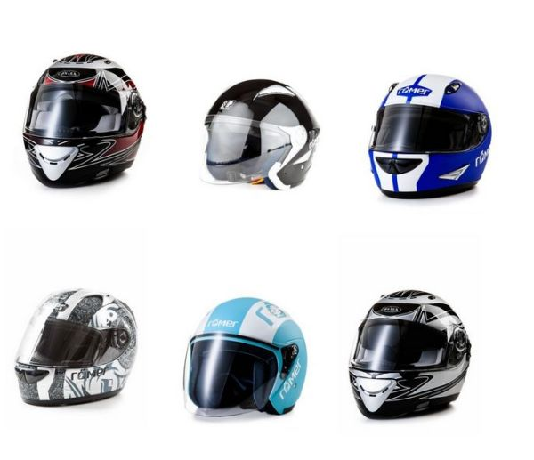 Motorcycle -<br> Helmets of Romans<br>and Akira € 32.50 e