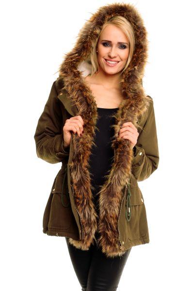 Jacket Vera Lucy<br>1581 khaki prémes