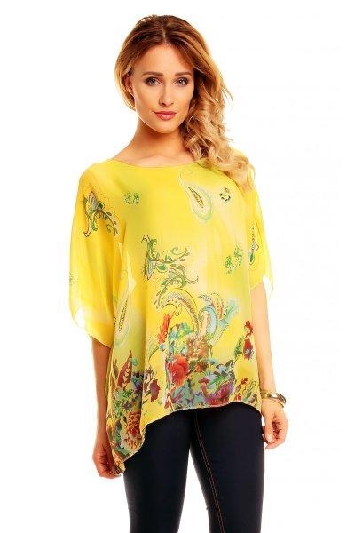 Tunic 6076 yellow