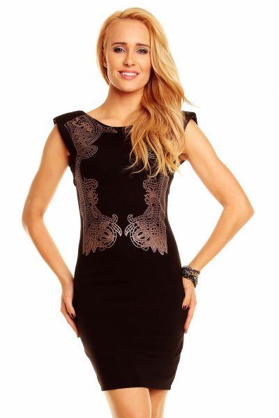 Dress JH011 fekete Kimi