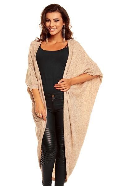Cardigan / Sweater<br>Voyelles J723 beige