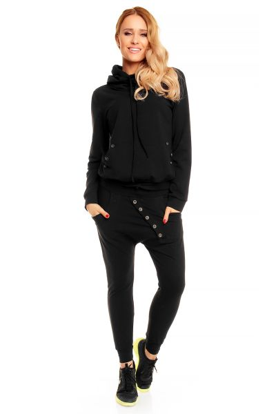 Jogging Moda JD001 black