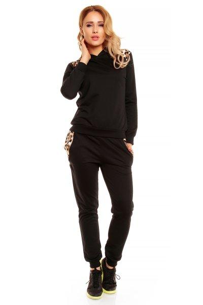 Jogging Chic Et<br> Jeune 5901<br>black-brown leo