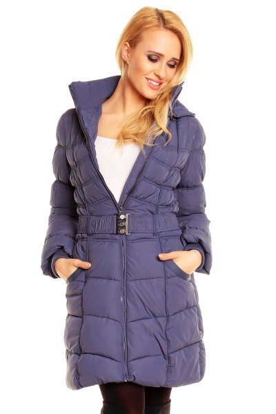 Quilted Coat Fresh<br> Made D5169Y44188A<br>blue 6 piece