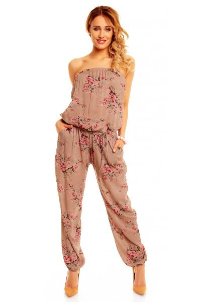 Overall 4545 brown-pink