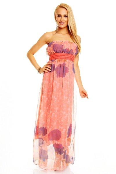 Dress Style 6106<br>Giulia salmon-blue