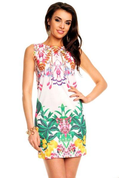 Ethina vestir<br> 22003<br>blanco-rosa-verde