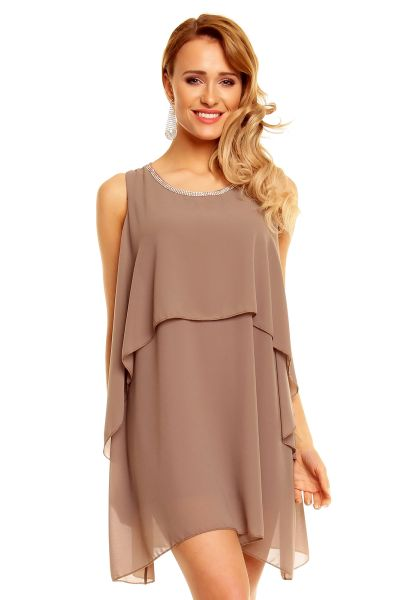 5189 brown dress
