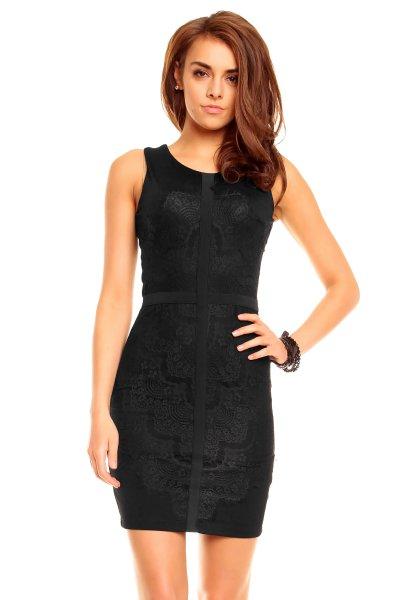 Kleid Moda D143 schwarz